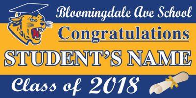 Project Graduation 2018 BAS Lawn Sign