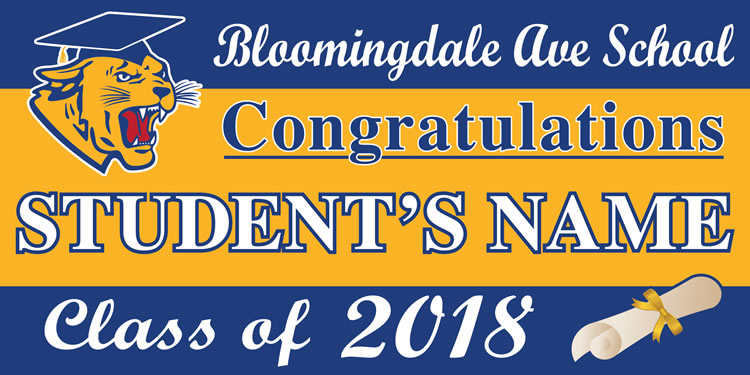 Project Graduation 2018 BAS Lawn Sign