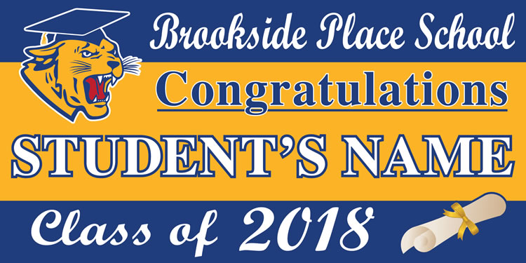 Project Graduation 2018 BPS Lawn Sign