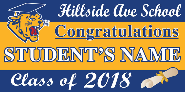 Project Graduation 2018 HAS Lawn Sign