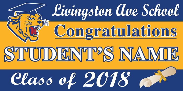 Project Graduation 2018 LAS Lawn Sign