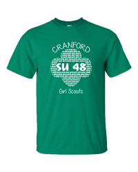 Cranford Girl Scouts 2019 Camping Short Sleeve Tee