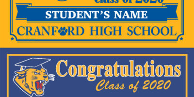 Cranford Schools Project Graduation Fundraiser 2020