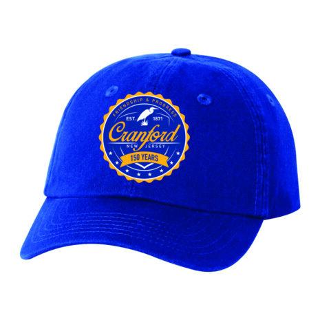 Cranford150th_2021_hat1